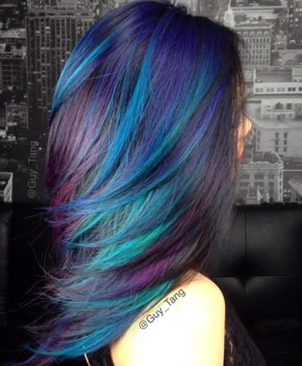 44 Incredible Blue And Purple Hair Ideas That Will Blow