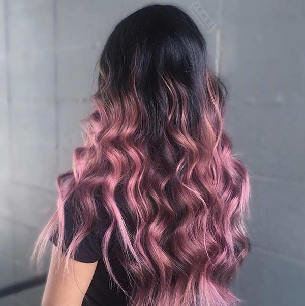 45 Gorgeous Rose Gold Hairstyle Ideas That Will Change