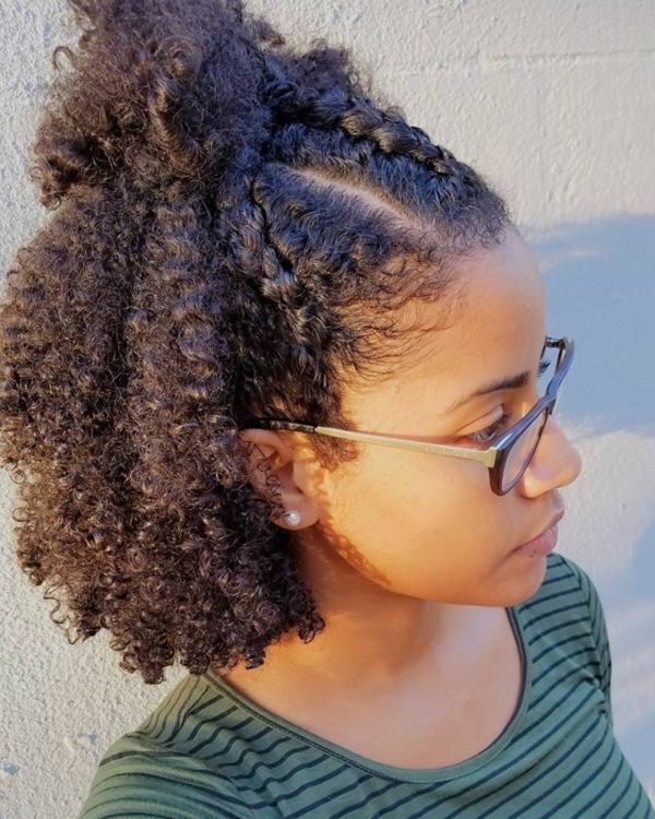 55 Beautiful Short Natural Hairstyles That You\'ll Love