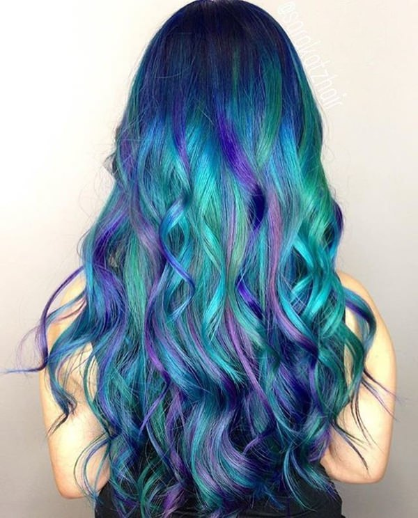 70 Breathtaking Mermaid Hairstyles That Are Vibrant
