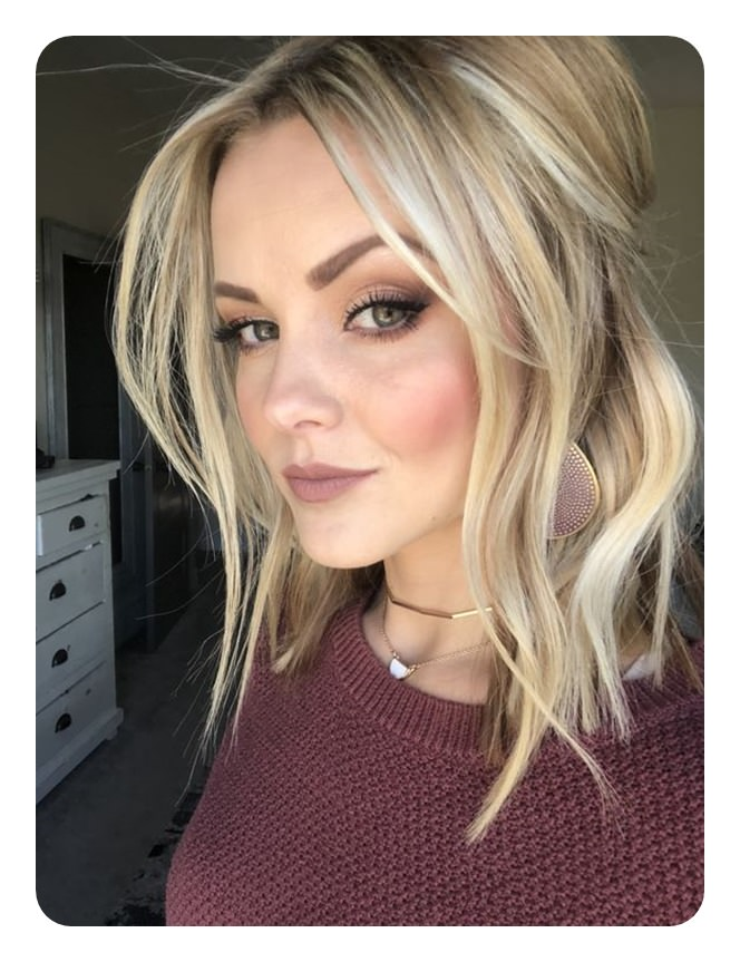 Permalink to Hairstyles For Lengthy Hair To Make Face Look Thinner