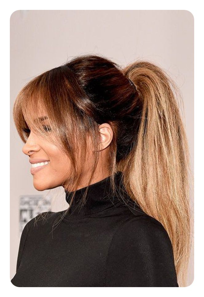 Halle Berry Looks Y With This High Ponytail Mimic Her Look The Next Time That You Have A Date Night We Know Will Wow Him For Sure