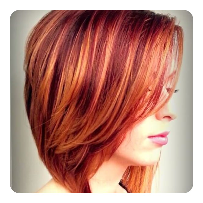 Copper hair shades: ideas of copper color hair dye (77 photos)