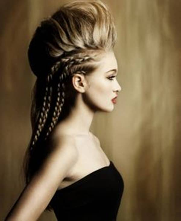 braided mohawk hairstyle 24