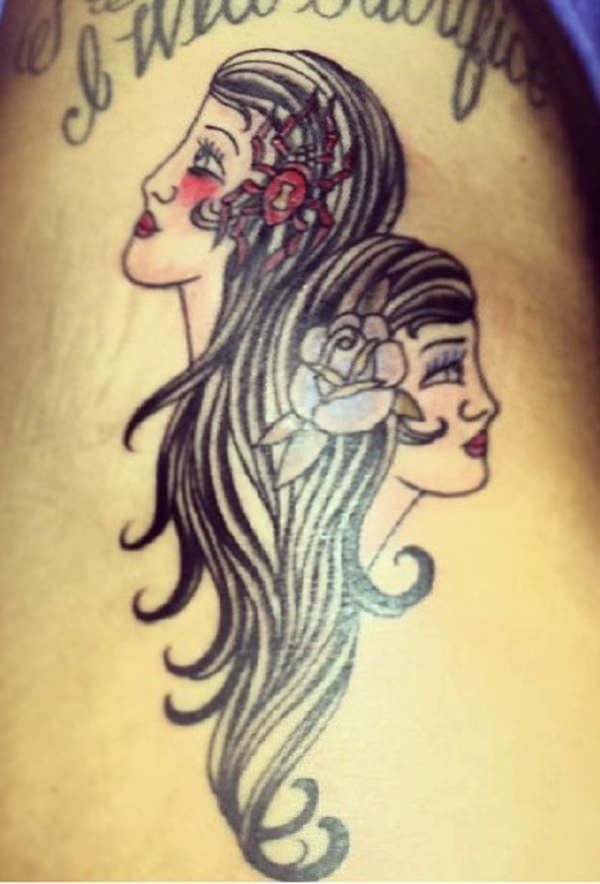 gemini tattoo designs 21