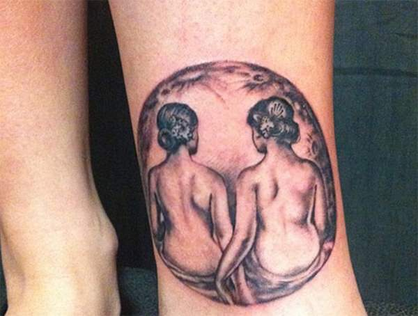 gemini tattoo designs 23