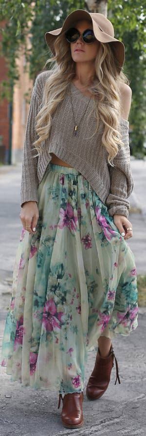 how to wear maxi