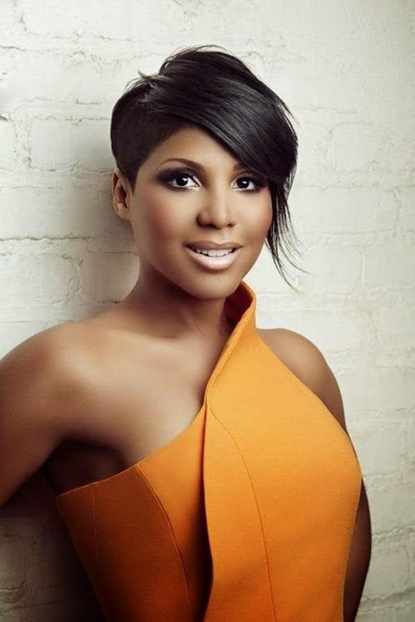 short hairstyles for black women 25