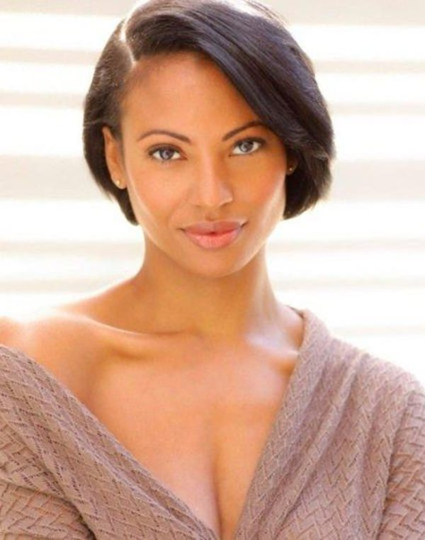 short hairstyles for black women 42