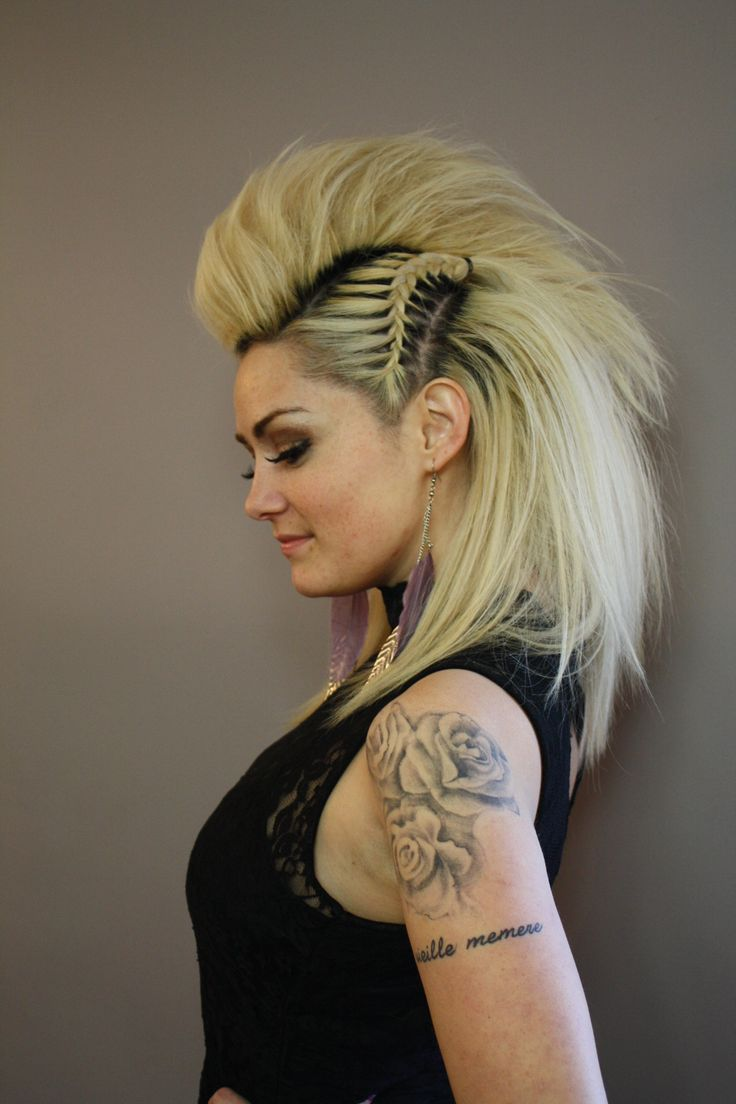 10 Punk Ways To Style Your Hair Without Cut Or Color