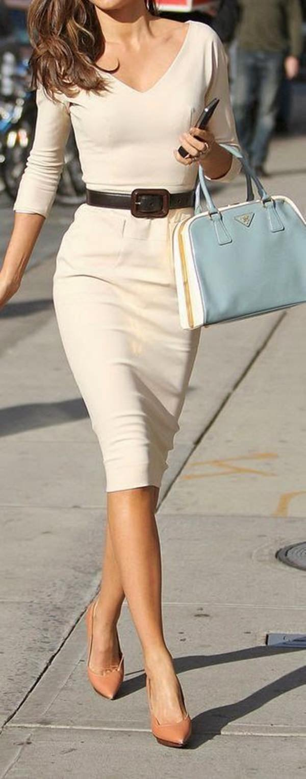 pencil skirt outfits 15