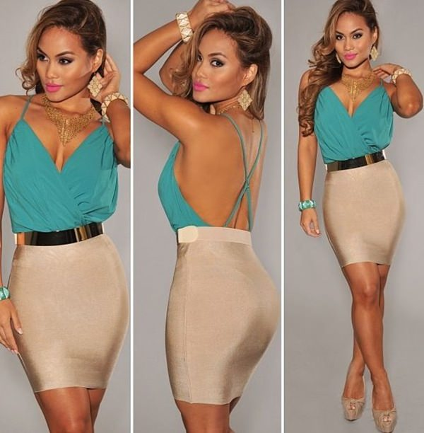 pencil skirt outfits 17