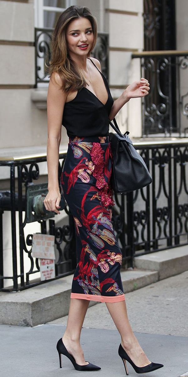 pencil skirt outfits 27