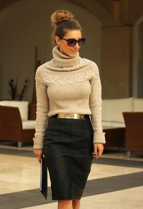 pencil skirt outfits 47