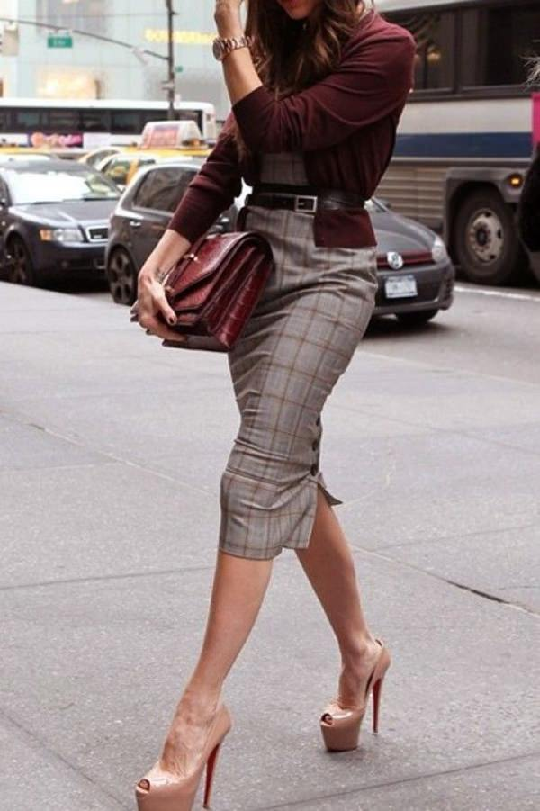 pencil skirt outfits 51