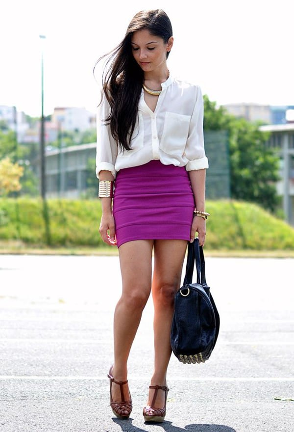49 pencil skirt outfits that will make you look like a