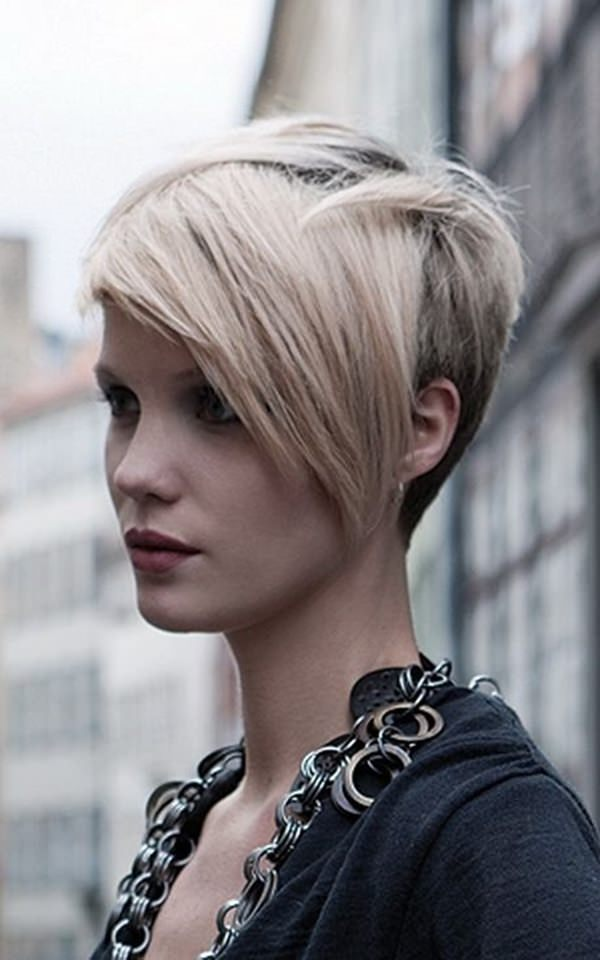 shaved hairstyles for women 28