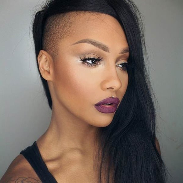 shaved hairstyles for women 4