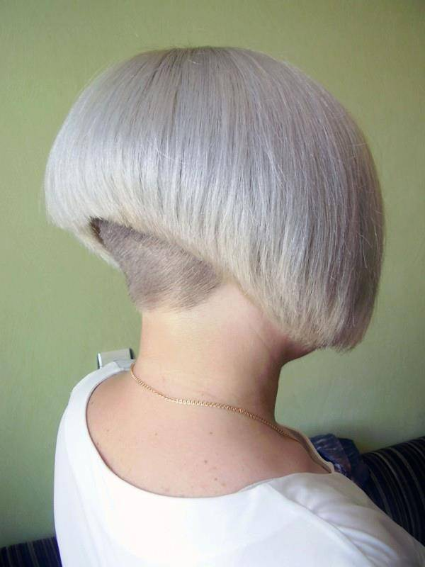 shaved hairstyles for women 50