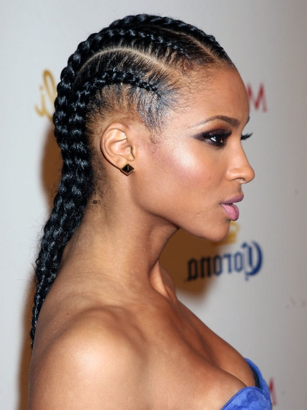 braids style for black hair 66 of the best looking black braided hairstyles for 2019 4282