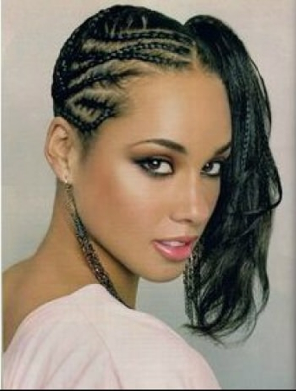 Best Looking Black Braided Hairstyles