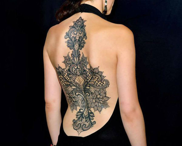 lace tattoos 31