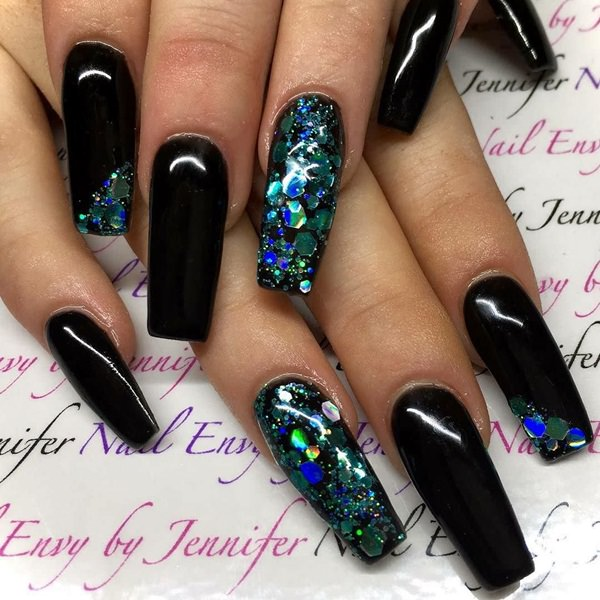 15-Acrylic-Nails - 115 Acrylic Nail Designs To Fascinate Your Admirers