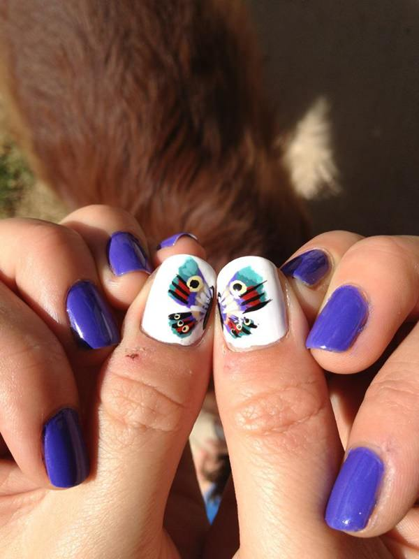 30 Beautiful Butterfly Nail Art Designs That You Will Need To Get