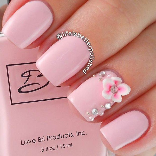67 innocently sexy pink nail designs photos 32020216 pink nail designs prinsesfo Choice Image