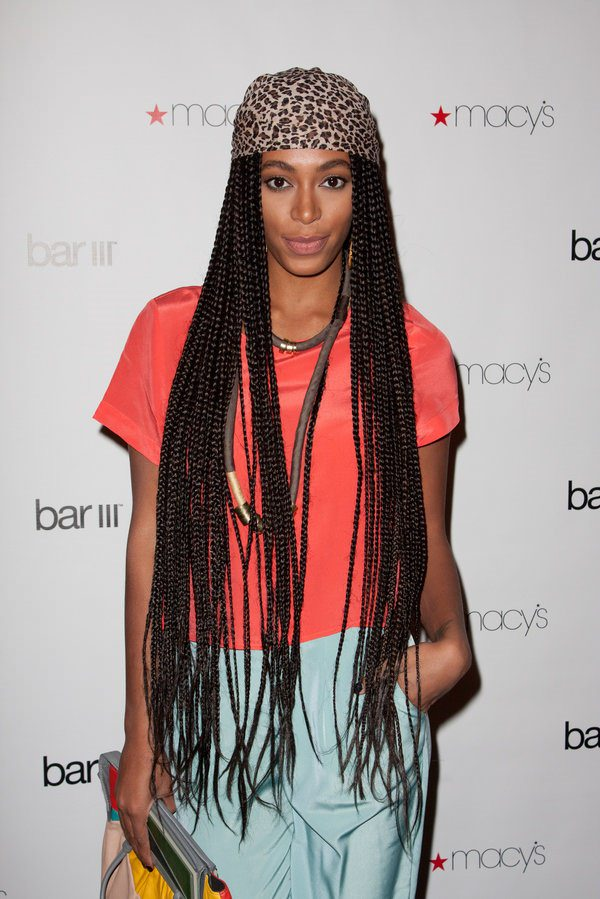 NEW YORK, NY - FEBRUARY 09: DJ Solange Knowles attends the launch party for Macy's Bar III Pop-Up Shop at 156 Fifth Ave on February 9, 2011 in New York City. (Photo by John Parra/Getty Images)