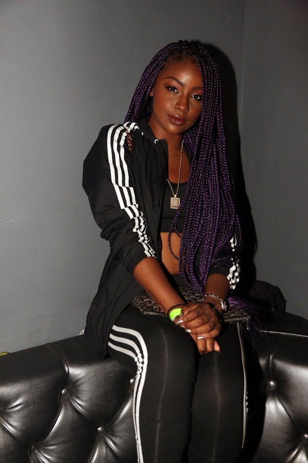 NEW YORK, NY - JULY 22: Justine Skye attends the Future Surprise Pop Up Performance at Highline Ballroom on July 22, 2015, in New York City. (Photo by Johnny Nunez/WireImage)