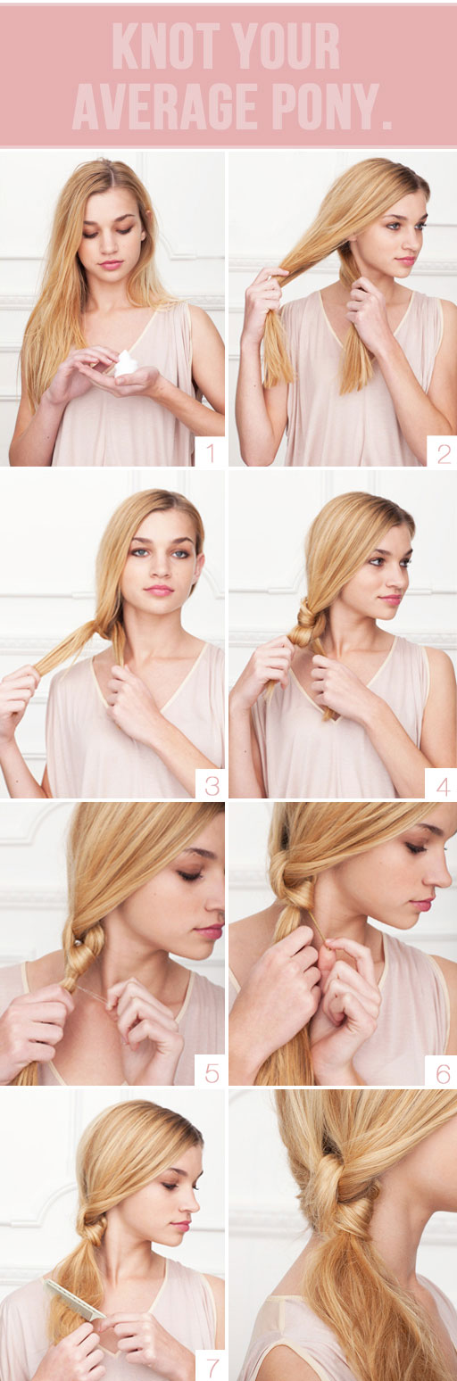 11 Do It Yourself, Easy Hairstyles (With Tutorial)