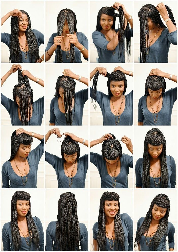 79 Sophisticated Box Braid Hairstyles With Tutorial