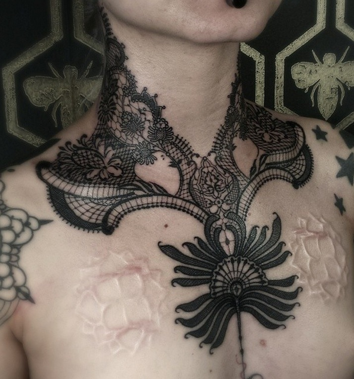 lace tattoo 15