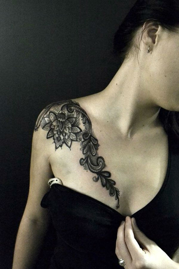 lace tattoos 19