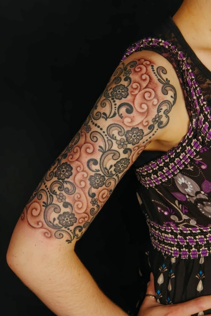 lace tattoos 34