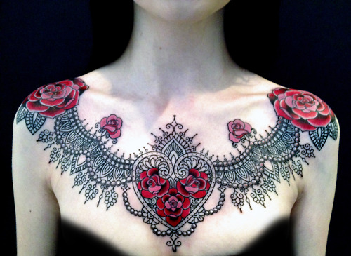 lace tattoos 48