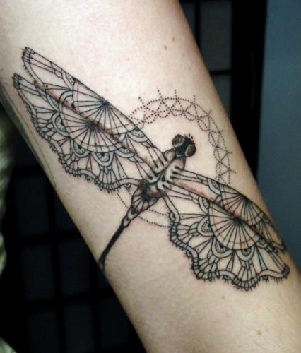 lace tattoos 6