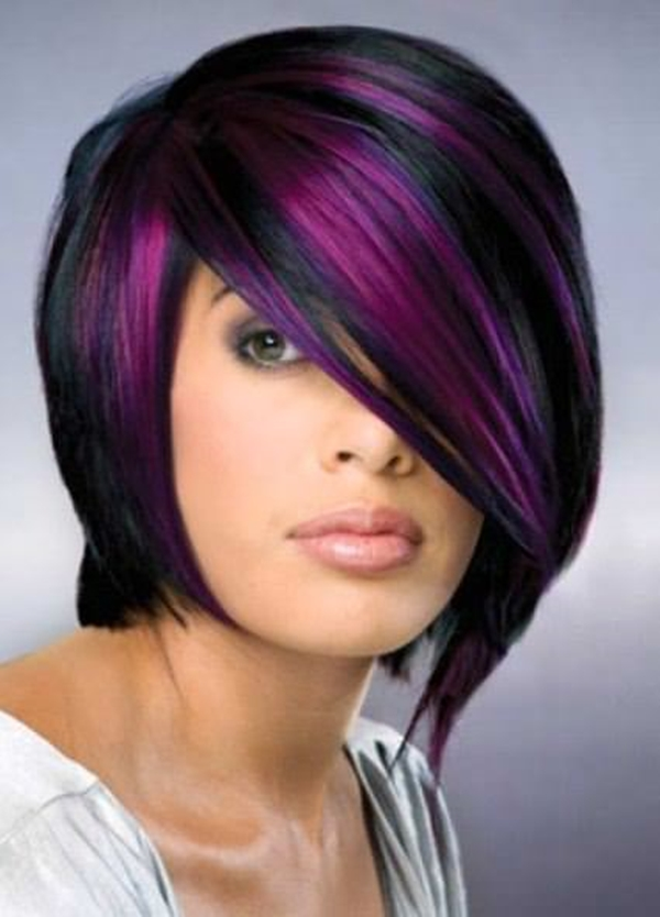 purple in hair styles 45 best hairstyles using the fashionable shade of purple 1948