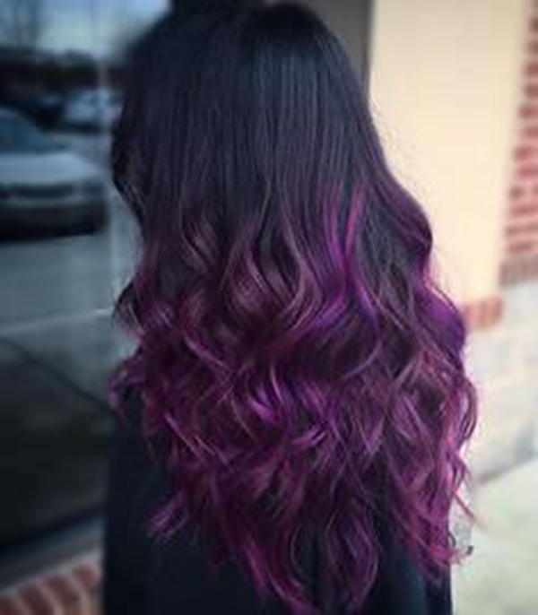 and purple hair styles 45 best hairstyles using the fashionable shade of purple 8184