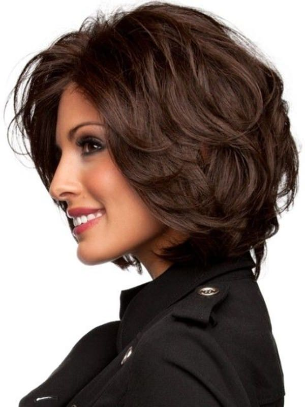 Shoulder Length Thick Hair Short Layered Haircuts 80