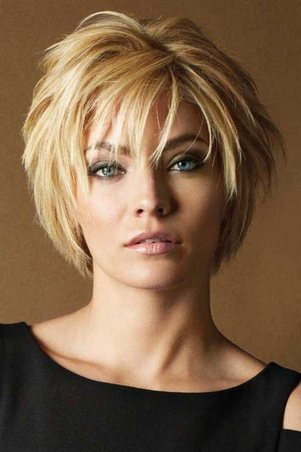 New Layered Hairstyles For Short Hair And Bangs Uternity Me