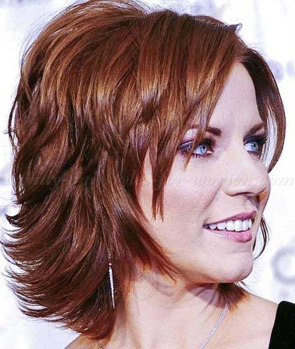 Hair medium length layered hairstyles