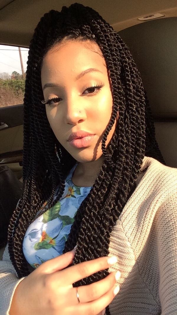 78 of the Best Senegalese Twist Hairstyle Ideas