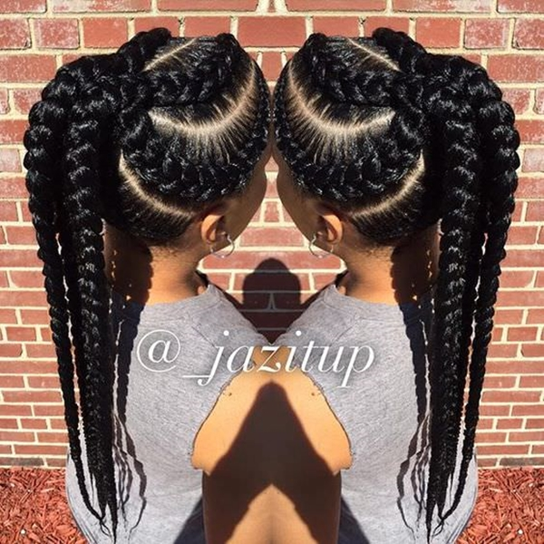 55 Of The Most Stunning Styles Of The Goddess Braid