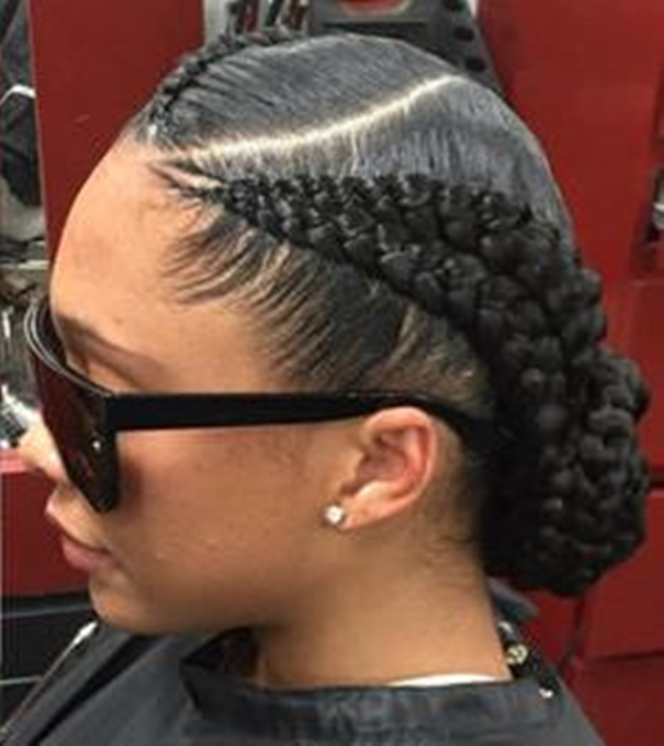 Goddess Braid/ cornrow