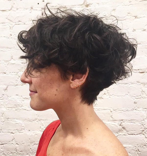 Perfect Haircut For Curly Hair At Fresh Cute Pixie Haircuts Short