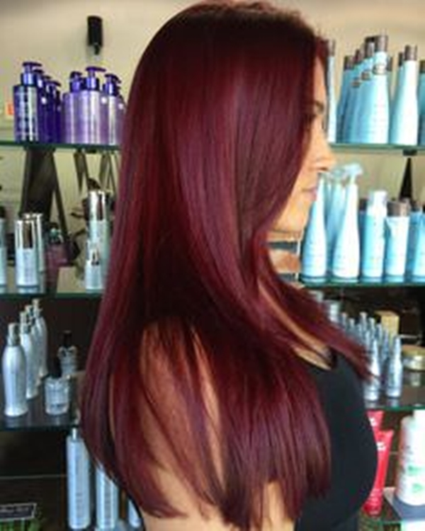 37150916 Dark Red Hair