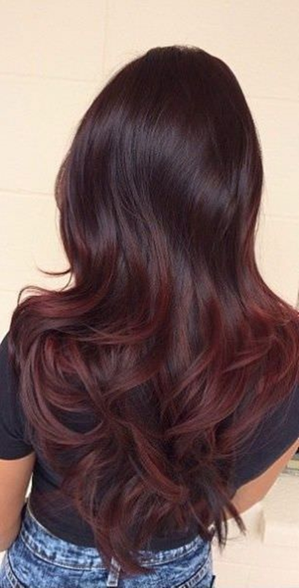 47150916 Dark Red Hair