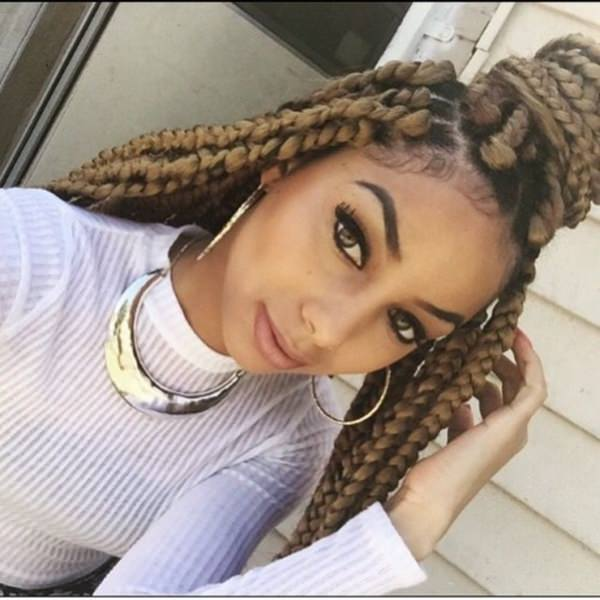 55 Of The Most Beautiful Jumbo Box Braids To Inspire Your Next Style